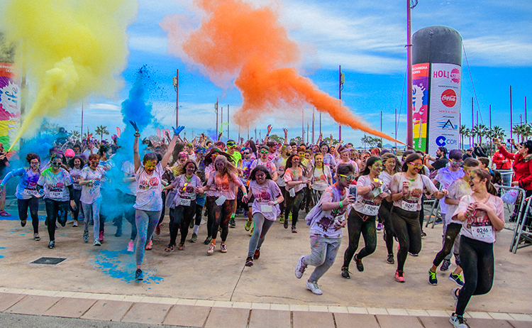 HOLI RUN ALMERIA 1st. Edition