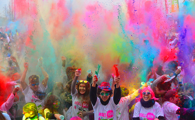 HOLI RUN BOADILLA DEL MONTE 2nd New Year