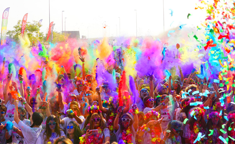 HOLI RUN MADRID ALCORCÓN 2016
